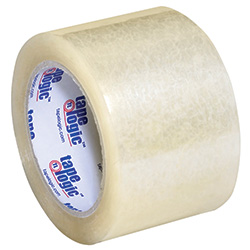 "3"" x 55 yds. Clear (6 Pack) Tape Logic™ 3.5 Mil Acrylic Tape"