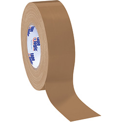 "2"" x 60 yds. Brown (3 Pack) Tape Logic™ 10.0 Mil Duct Tape"