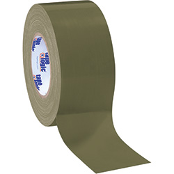"3"" x 60 yds. Olive Green Tape Logic™ 10.0 Mil Duct Tape"